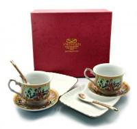 Чайный сервиз, фарфор (DN23128)