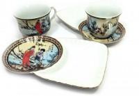 Чайный сервиз 'Сакура', фарфор (DN19224)