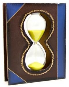 Подарок Часы песочные 'Книга' (DN24406)