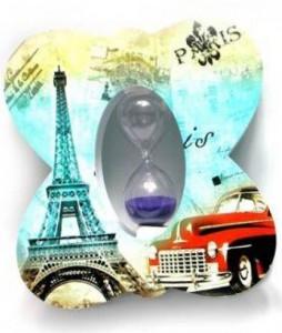 Подарок Часы песочные 'Париж' (DN26869)