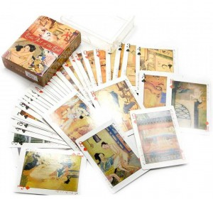 Подарок Карты игральные Arjuna 'Эротическое искусство востока' 52 листа