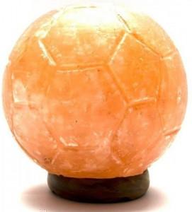 Подарок Лампа соляная 'Футбольный мяч' (DN26182)
