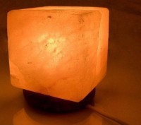 Подарок Лампа соляная 'Куб' (DN23077)