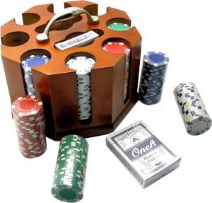 Набор для игры в покер Duke 200 фишек, две колоды карт (DN19853)
