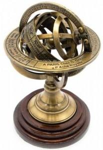 Подарок Сфера на подставке Гороскоп 14х8.5 см (DN23456)