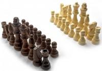 Шахматные фигуры Duke деревянные (DN25197)