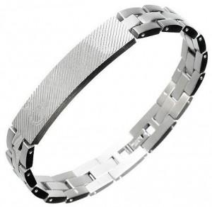 Подарок Мужской браслет Caseti серебристый CI30019 (5)