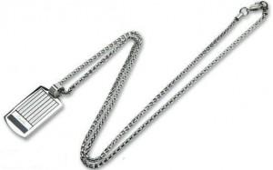 Подарок Мужской кулон Caseti серебристый CAA30011 (6)