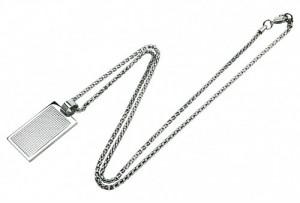 Подарок Мужской кулон Caseti серебристый CAB30012 (6)