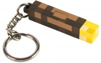 Подарок Брелок JINX Minecraft - 3D Light-Up Torch Keychain (JINX-9731)