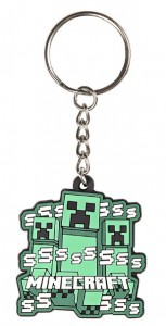 Подарок Брелок JINX Minecraft Keychain - Creeper Rush (JINX-8323)