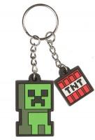 Подарок Брелок JINX Minecraft Keychain - Creeper Sprite (JINX-8319)