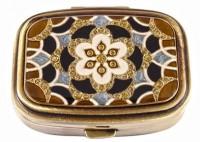 Подарок Пепельница карманная Leif Lowe, латунь (382843AB)