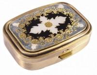 Подарок Пепельница карманная Leif Lowe, латунь (383039AB)
