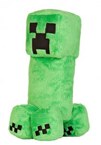 фигурка Фигурка JINX Minecraft - Creeper Plush, 10.5 Green (JINX-5944)