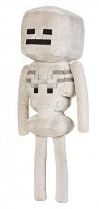 фигурка Фигурка JINX Minecraft -Skeleton Plush, 12 White (JINX-5945)