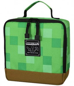 Подарок Ланчбокс JINX Minecraft Blocks Lunch Box, Green (JINX-8118)