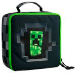 Подарок Ланчбокс JINX Minecraft Creepy Creeper Lunch Box, Gray (JINX-9529)