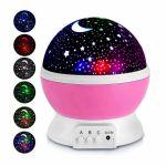 Подарок Вращающийся проектор-ночник Звездное небо UFT STARMASTER DREAM
