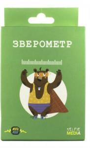 Настольная игра  Selfie Media 'Зверометр'  (44402)