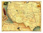 Карта фронтира Studio 101 'Deadlands ' (ST5497)