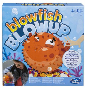Настольная ролевая игра Hasbro 'Пугливая рыбка (Blowfish Blowup)' (E3255)