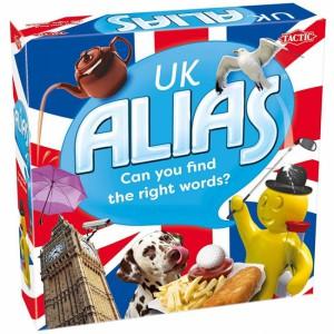 Настольная ролевая игра Tactic 'Алиас. Великобритания (Alias UK) ' (55710)