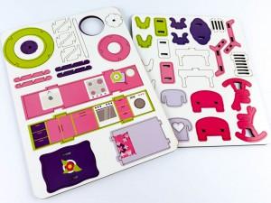 фото игрушки Конструктор Зірка 'Будиночок кольоровий ігровий' (2000001203361) #5