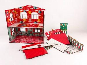 фото игрушки Конструктор Зірка 'Будиночок кольоровий ігровий з ліфтом' (2000001203354) #4