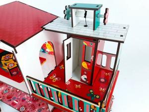 фото игрушки Конструктор Зірка 'Будиночок кольоровий ігровий з ліфтом' (2000001203354) #3
