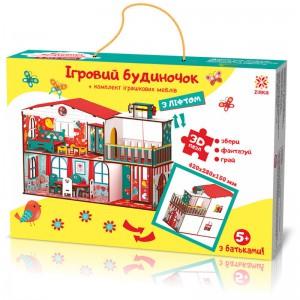 Конструктор Зірка 'Будиночок кольоровий ігровий з ліфтом' (2000001203354)