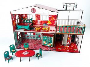 фото игрушки Конструктор Зірка 'Будиночок кольоровий ігровий з ліфтом' (2000001203354) #10
