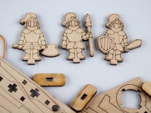 фото Дерев'яний 3D-конструктор Зірка 'Історичне знаряддя Требушет' (2000001027646) #8