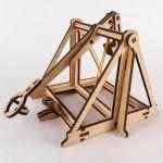 фото Дерев'яний 3D-конструктор Зірка 'Історичне знаряддя Требушет' (2000001027646) #3
