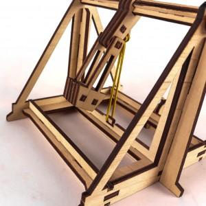 фото Дерев'яний 3D-конструктор Зірка 'Історичне знаряддя Требушет' (2000001027646) #2