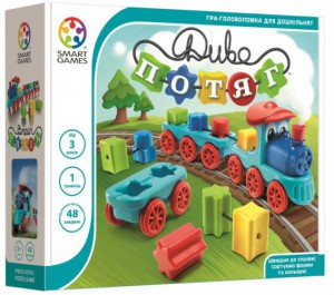 Настольная игра Smart 'Чудо-поезд (Диво-потяг, Brain Train)' (SG 040 UKR)
