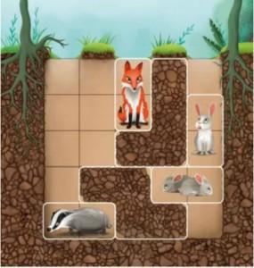 фото Дорожная магнитная игра Smart 'Подземные приключения или Где чья нора? (Підземні пригоди або Де чия нора?, Down the Rabbit Hole)' (SGT 290 UKR) #4