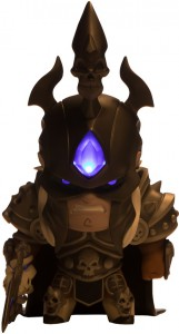 фото Коллекционная фигурка Blizzard С подсветкой Cute But Deadly Colossal Arthas (B62448) #2
