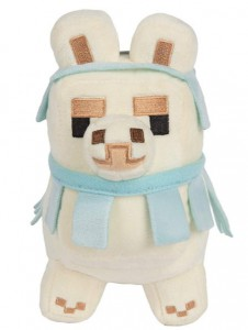 фото Фигурка JINX Minecraft - Happy Explorer Baby Llama, 6.5 White/Blue (JINX-8732Wh) #3
