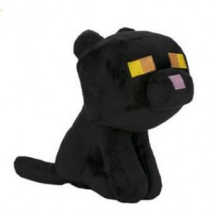 фигурка Фигурка JINX Minecraft - Happy Explorer Black Cat, 8 Black (JINX-9295)