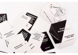 фото Настольная игра Cards of conflict 'Карты конфликта. Сборник ваших тупых идей (Cards of conflict)' (82824) #3