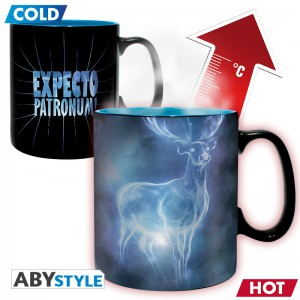 Подарок Чашка-хамелеон Harry Potter Patronus,  460 мл (ABYMUG422)