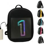 фото Рюкзак с LED дисплеем LED Bagpack, голубой #6