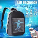 фото Рюкзак с LED дисплеем LED Bagpack, серый #10