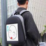 фото Рюкзак с LED дисплеем LED Bagpack, серый #8