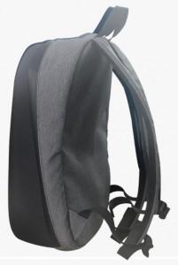фото Рюкзак с LED дисплеем LED Bagpack, серый #5