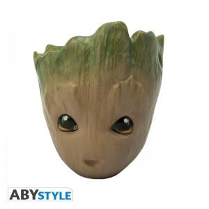фото Чашка 3D Marvel Groot (Грут), 300 мл (ABYMUG626) #4
