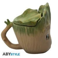 Подарок Чашка 3D Marvel Groot (Грут), 300 мл (ABYMUG626)
