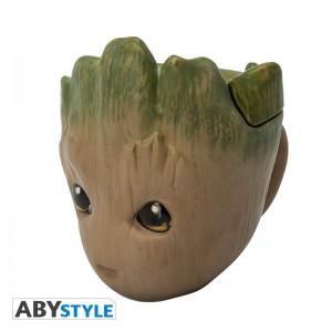 фото Чашка 3D Marvel Groot (Грут), 300 мл (ABYMUG626) #6