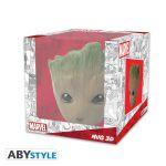 фото Чашка 3D Marvel Groot (Грут), 300 мл (ABYMUG626) #3